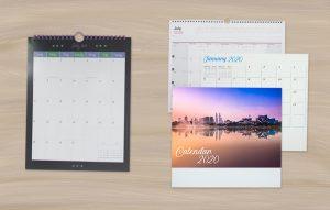 Desk & Wall Mounted Calendar - UPA Press Calendar Manufacturer